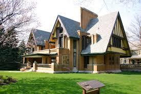 frank lloyd wright style architecture interior design