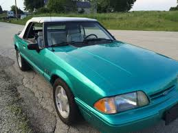1993 mustang lx for sale 1993 mustang lx 5 0 convertible calypso green for sale photos
