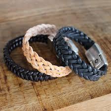 make leather woven bracelet images Diy mens braided leather bracelet braids 4 to 6 strands perles co jpg