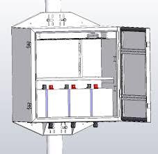ups stl48 50 upspro 24 48v battery 200w 2400va outdoor ups system
