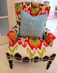 Printed Fabric Armchairs Judith White Could Make This Accent Chair Lilac 625 00
