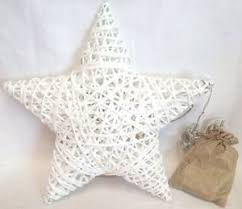 lumineo paper wicker indoor led light up christmas star decoration