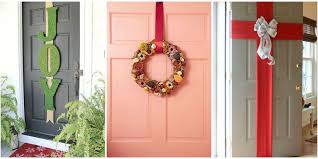 door decorations 5 best christmas door decorations how to decorate your door for