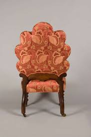 Antique Victorian Rocking Chair Chair Well Shaped Victorian Slipper Chair With Original Cane Work