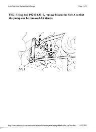 2000 toyota sienna power steering