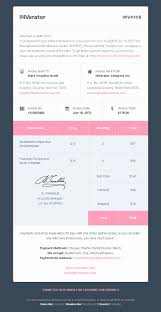 invoice email template free printable invoice