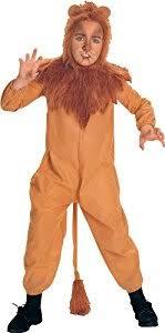 cowardly lion costume wizard of oz child s cowardly lion costume medium