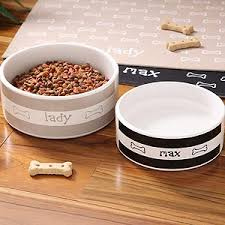 personalized bowl personalized ceramic dog bowls doggie diner