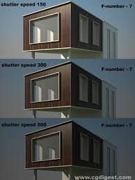 Vray Physical Camera Settings Interior Vray Exterior Daylight Tutorial