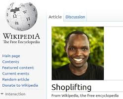 Shoplifting Meme - image 223881 2010 wikipedia fundraising caign know your meme