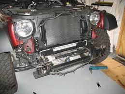 jeep wrangler light wiring mopar jeep wrangler jk bumper installation jeepfan com