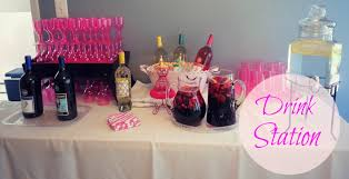 bridal shower cocktail party theme baby shower cocktail party