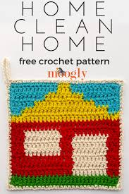 crochet home decor free patterns home clean home free crochet pattern on mooglyblog com