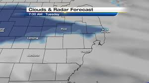 Radar Map Of Michigan by Winter Weather Advisory Issued For Tuesday In Se Michigan
