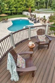Pool Patio Furniture by 141 Best Deck Design Ideas For Swimming Pools Tubs And Spas