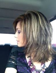 medium length lots of layers hairstyles shoulder length layered hairstyles medium length layered