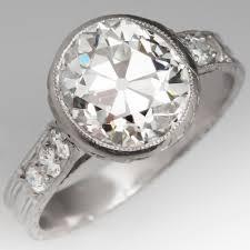 diamond ring cuts mine cut and european cut diamonds eragem