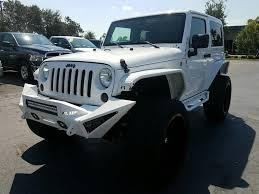 pre owned 2013 jeep wrangler sahara custom jeep convertible in
