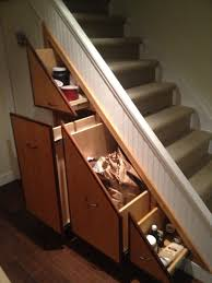 appealing under basement stairs storage ideas pics design