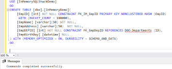 sql server create table primary key in memory oltp enhancements in sql server 2016