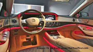 2014 mercedes s class interior 2014 mercedes s class launch images from thechauffeur com