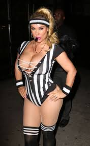coco austin at heidi klum 17th annual halloween party in new york