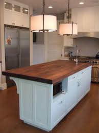 butcher block kitchen island home design