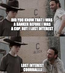 Meme Carl - coral walking dead memes rick dick grimes coral meme collection