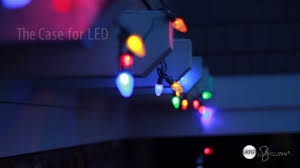 outdoor christmas lights led vs incandescent christmas lights led vs incandescent youtube