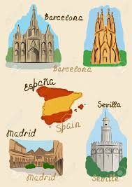 Map Of Madrid Spain by 7 944 Map Of Spain Cliparts Stock Vector And Royalty Free Map Of