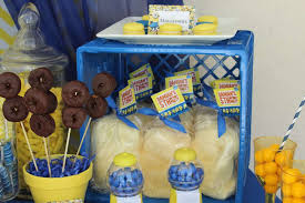 minion centerpieces minions birthday party ideas photo 7 of 49 catch my party