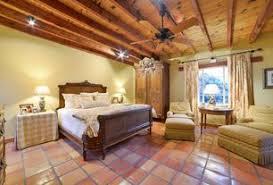 rustic bedroom terracotta tile floors zillow digs zillow