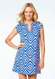 maternal america maternal america ponte knit royal tapestry shift maternity dress