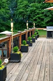 Backyard Deck Designs Pictures by Decorations Wood Deck Ideas Designs Back Deck Christmas