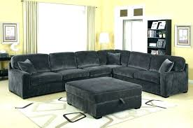 gray sectional with ottoman charming charcoal gray ottoman chaise lounge with ottoman stunning