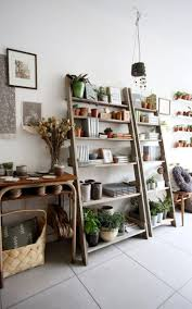Tall Bookcase With Ladder by Decorating 8 Ft Leaning Ladder Shelf For Mesmerizing Home