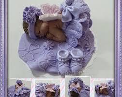 baby shower cake topper fondant edible pink tutu baby cake