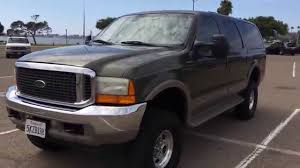 2001 ford excursion 7 3l 4x4 limited diesel lifted walk around