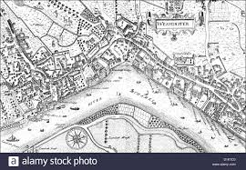 thames river map europe city map of westminster with the river thames 17th century a stock