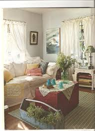 Country Style Curtains For Living Room Country Cottage Style Living Rooms Artist Lynn Hanson U0027s Little