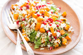 harvest rice salad food fanatic