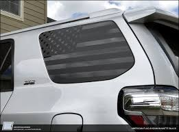 jeep american flag decal toyota 4runner american flag window decal 2010 2017 5th gen