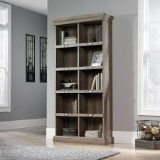 mainstays 5 shelf wood bookcase multiple colors walmart com