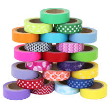 washi crafting tape coordinating colors u0026 prints by scraft artise