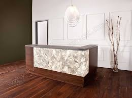 Beauty Salon Reception Desk Curved Reception Desk Home Design Modern Corner Breakfast Nook