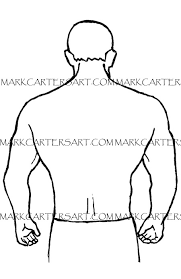 human form sketch book line drawings by mark carter for the tatoo