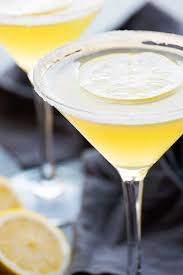 martini drinks lemon drop martini homemade hooplah