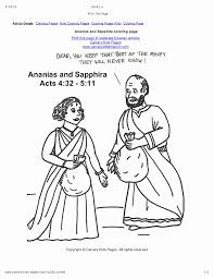ananias and sapphira coloring page church crafts pinterest