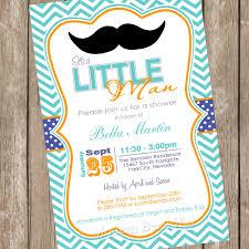 create little man baby shower invitations ideas invitations
