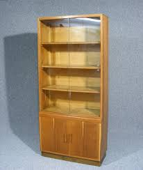 Bookcases With Sliding Glass Doors A Wonderful Glazed Bookcase Display Cabinet Sliding Glass Doors To